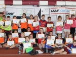 IAAF/Nestlé Lecturers' course and Kids' Athletics competition held in Tallinn