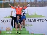 2016 maratonijooksu Eesti meistriteks tulid Heinar Vaine (VAK Staier) ja Moonika Pilli (SK Jooksupartner)