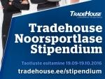 Tradehouse Noorsportlase Stipendium 2017 on avatud