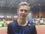 Johannes Erm püstitas Eesti karikavõistlustel 300m jooksus juunioride rekordi.