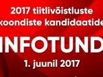 Neljapäeval, 1. juunil toimub 2017 koondiste kandidaatide INFOTUND!