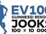 EV100 Guinnessi rekordi jooksu 100x10 000m etappide ajad