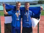 Eesti noored kuulmispuudega kergejõustiklased võitsid Euroopa meistrivõistlustelt viis medalit