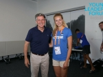 Annika Sakkarias osales Berliini EMi ajal Noorte Liidrite Foorumil