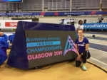 Uudmäe sai Glasgow sise-EMil 13. koha, Alver oli 14.