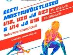 548 noort kergejõustiklast selgitavad Rakveres U23, U20 ja U18 Eesti meistrid