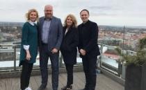 Eesti Kergejõustikuliidu sekretariaati külastasid 25.aprillil meie head naabrid Lätist - Läti kergejõustikuliidu president Ineta Radevica ja peasekretär Dmitrijs Milkevics.