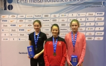 Tüdrukute U14 mitmevõistluse Eesti meistriks krooniti Miia Kaare