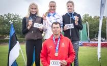 Selgusid U14, U16 ja U18 mitmevõistluse Eesti meistrid